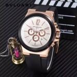 Bvlgari-97-02 寶格麗進口多功能計時石英男士腕表