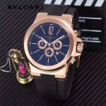 Bvlgari-97-05 寶格麗進口多功能計時石英男士腕表