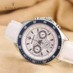 Maserati-001-2 時尚魅力男士白色316精鋼錶殼進口石英腕錶