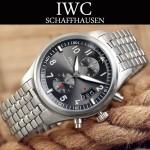IWC-077-02 時尚商務進口石英計時機芯Top gun系列男士精品腕表