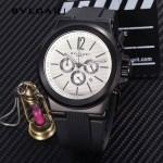Bvlgari-97 寶格麗進口多功能計時石英男士腕表