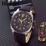 Ferrari法拉利-078-09 法拉利進口VK計時+多功能顯示新品賽車元素計時腕表