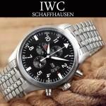 IWC-077-01 時尚商務進口石英計時機芯Top gun系列男士精品腕表