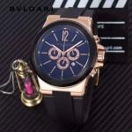 Bvlgari-97-03 寶格麗進口多功能計時石英男士腕表