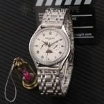 PATEK PHILIPPE-0145-06 百達翡麗進口石英藍寶石鏡面精品男士計時腕表