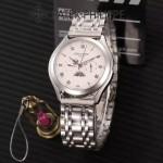 PATEK PHILIPPE-0145-014 百達翡麗進口石英藍寶石鏡面精品男士計時腕表
