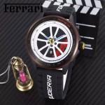 Ferrari法拉利-079-02 法拉利於賽車元素腕表計時石英機芯時尚腕表
