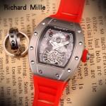 Richard Mille-81-03 理查德米勒原裝進口8215機械 防水膠帶配原裝折疊扣男士腕表
