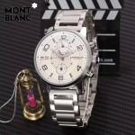 Montblanc-184-05 萬寶龍藍寶石玻璃全自動精準機械新款腕表