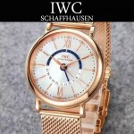 IWC-079-01 萬國柏濤菲諾系列瑞士ETA2836機芯經典四針男士腕表