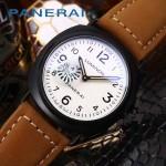 PN1204-012 沛納海雕花自動機械機芯礦物強化玻璃男士腕表