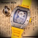 Richard Mille-81-05 理查德米勒原裝進口8215機械 防水膠帶配原裝折疊扣男士腕表