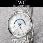 IWC-079-02 萬國柏濤菲諾系列瑞士ETA2836機芯經典四針男士腕表