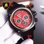 Lamborghini-010-011 兰博基尼進口日本原裝計時碼表礦物質鑫鋼化玻璃男士腕表
