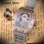 Richard Mille-81-02 理查德米勒原裝進口8215機械 防水膠帶配原裝折疊扣男士腕表