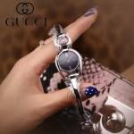 GUCCI-0100-05 名媛必備進口石英機芯藍寶石玻璃鏡面古奇手鐲女表