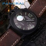 PN1204-018 沛納海雕花自動機械機芯礦物強化玻璃男士腕表