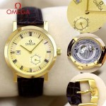 OMEGA-177-07 時尚經典雷德梅尼同款自動機械男士腕表