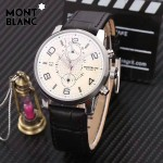 Montblanc-184-01 萬寶龍藍寶石玻璃全自動精準機械新款腕表