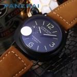 PN1204-02 沛納海雕花自動機械機芯礦物強化玻璃男士腕表