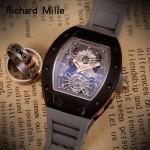 Richard Mille-81-08 理查德米勒原裝進口8215機械 防水膠帶配原裝折疊扣男士腕表