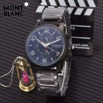 Montblanc-184-02 萬寶龍藍寶石玻璃全自動精準機械新款腕表