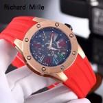Richard Mille-82-07 理查德米勒時尚新款女裝西鐵城全自動機芯腕表