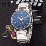 Montblanc-184-04 萬寶龍藍寶石玻璃全自動精準機械新款腕表