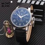 Montblanc-184-06 萬寶龍藍寶石玻璃全自動精準機械新款腕表