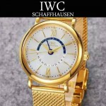 IWC-079-04 萬國柏濤菲諾系列瑞士ETA2836機芯經典四針男士腕表