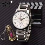 Montblanc-184-03 萬寶龍藍寶石玻璃全自動精準機械新款腕表