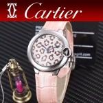 CARTIER-308-014 卡地亞絢麗多彩叢林進口石英豹紋表盤腕表