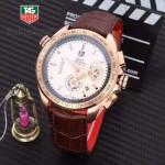 CARRERA-110 時尚款進口多功能顯示豪雅運動型計時碼男士腕表