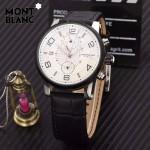 Montblanc-184 萬寶龍藍寶石玻璃全自動精準機械新款腕表