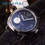 PN1204-01 沛納海雕花自動機械機芯礦物強化玻璃男士腕表