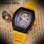 Richard Mille-81-06 理查德米勒原裝進口8215機械 防水膠帶配原裝折疊扣男士腕表