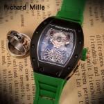 Richard Mille-81-07 理查德米勒原裝進口8215機械 防水膠帶配原裝折疊扣男士腕表