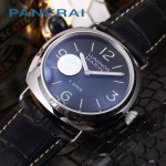 PN1204-08 沛納海雕花自動機械機芯礦物強化玻璃男士腕表