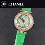 CHANEL-0200-011 時尚新款時來運轉系列瑞士朗達石英機芯女士腕表