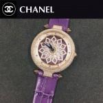 CHANEL-0200-010 時尚新款時來運轉系列瑞士朗達石英機芯女士腕表