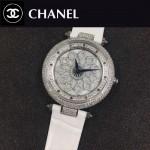 CHANEL-0200-03 時尚新款時來運轉系列瑞士朗達石英機芯女士腕表