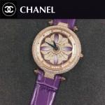 CHANEL-0200-015 時尚新款時來運轉系列瑞士朗達石英機芯女士腕表
