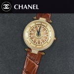 CHANEL-0200-09 時尚新款時來運轉系列瑞士朗達石英機芯女士腕表