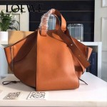 LOEWE 024-02 潮流時尚新款Hammock Bag系列進口西班牙原版皮手提單肩包