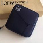 LOEWE 017 專櫃時尚新款puzzle系列原版牛皮裏外全皮爆款錢包零錢包