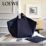 LOEWE 024-05 潮流時尚新款Hammock Bag系列進口西班牙原版皮手提單肩包