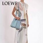 LOEWE 024-04 潮流時尚新款Hammock Bag系列進口西班牙原版皮手提單肩包