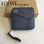 LOEWE 017-03 專櫃時尚新款puzzle系列原版牛皮裏外全皮爆款錢包零錢包