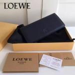 LOEWE 022-02 專櫃時尚新款頂級進口原版牛皮男士錢包