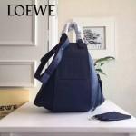 LOEWE 028 潮流時尚新款進口西班牙原版牛皮Hammock Bag情侶款包包